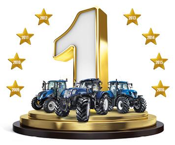 Od 8 lat lider w sprzedaży ciągników rolniczych
